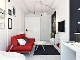 minimalistic Bedroom by Оксана Мухина