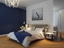 mediterranean Bedroom by Оксана Мухина