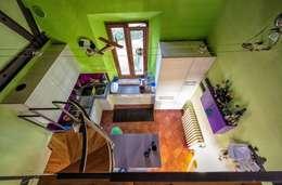 eclectic Kitchen by Studio Prospettiva
