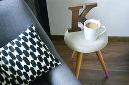 Dormitorios de estilo escandinavo por D2 Studio