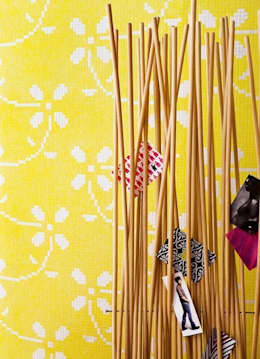 ausgefallene wandgestaltung mit farbe - Wandgestaltung Trend 2015