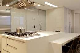 modern Kitchen by Ana Paula e Sanderson Arquitetura