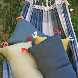 Projekty,  Balkon, weranda i taras zaprojektowane przez Petit Pote