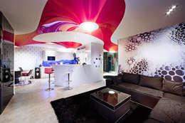 Щупальца Осьминога: Гостиная в . Автор – DMYTRO ARANCHII ARCHITECTS