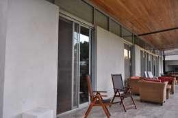 Casas de estilo  por Baltera Arquitectura