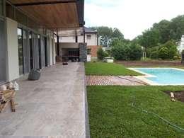 PROYECTO LANFRANCO: Jardines de estilo clásico por Baltera Arquitectura
