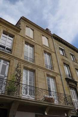 RÉHABILITATION LOGEMENTS COLLECTIFS: Maisons de style de style Classique par Cendrine Deville Jacquot, Architecte DPLG, A²B2D