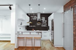 industrial Kitchen by IdeasMarket