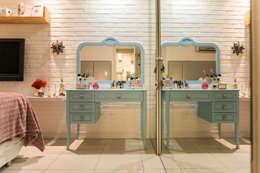 Dormitorios de estilo ecléctico por Bloom Arquitetura e Design