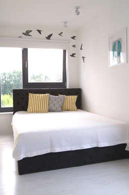 Sypialnia : styl , w kategorii Sypialnia zaprojektowany przez kadedesign