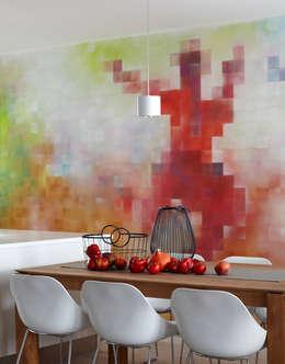Cocinas de estilo moderno por Pracownia Projektowa Hanna Kłyk