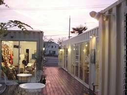 Galerías y espacios comerciales de estilo  por ヒロ・デザイン・ラボ