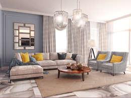 Дом Millennium-park, 420 м²: Гостиная в . Автор – Bronx