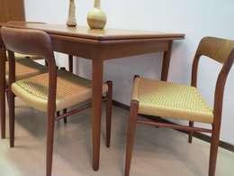 Eetkamerset van de Deense ontwerper Niels Otto Moller: scandinavische Eetkamer door Werkplaats69