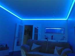 LEDPİYER – Rengarenk tavanlar-Gizli aydınlatma,dekoratif ışıklı kartonpiyer ve bordür sistemleri; LEDPiYER:  tarz Oteller