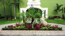 CASA AA-14: Jardines de estilo moderno por EcoEntorno Paisajismo Urbano