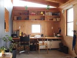 家族のワークスペース|mat house: KAZ建築研究室が手掛けた和室です。
