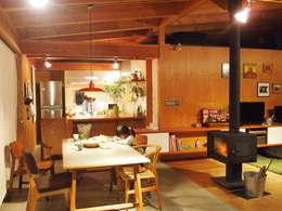 KAZ建築研究室의  주방