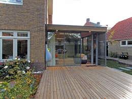 Projekty,  Ogród zimowy zaprojektowane przez Roorda Architectural Studio