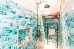 rustic Bathroom تنفيذ Kenny&Mason
