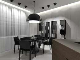 Stealth Flat: Столовые комнаты в . Автор – iPozdnyakov studio