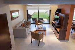 Salas de estilo moderno por Estudio Alvarez Angiono