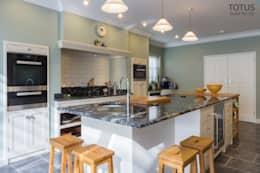 House extension and transformation, Wandsworth SW18: country Kitchen by TOTUS