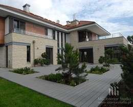 Dom: styl klasyczne, w kategorii Domy zaprojektowany przez MG Interior Studio Michał Głuszak
