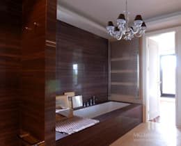 MG Interior Studio Michał Głuszak: klasik tarz tarz Banyo