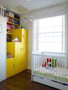 modern Nursery/kid's room by Collective Works