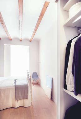 Projekty,  Sypialnia zaprojektowane przez Markham Stagers