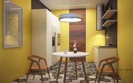 Cocinas de estilo minimalista por Natalia Solo Design