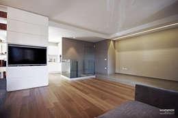 Salas / recibidores de estilo moderno por Luca Mancini | Architetto