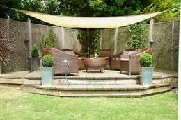 Lothian Design: kolonyal tarz tarz Bahçe