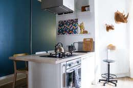 Cocinas de estilo moderno por EK Architecte