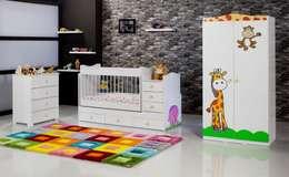 Ater Bilişim Mobilya Hizmet Teknolojileri ve Danışmanlık San. Tic. Ltd. Şti. – Fil Büyüyebilen Çocuk Odası: akdeniz tarzı tarz Çocuk Odası