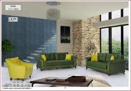 Mobitool Modüler Mobilya – Mobitool Modüler Mobilya: modern tarz Oturma Odası