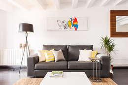 Salas de estilo moderno por Markham Stagers