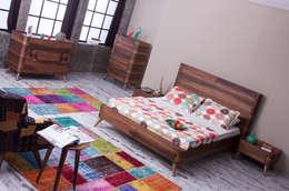 Mahir Mobilya – Retro Yatak Odası Takımları: modern tarz Yatak Odası