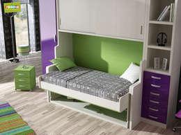 Recámaras de estilo moderno por Muebles Parchis. Dormitorios Juveniles.