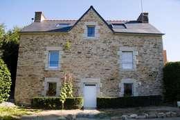 Dom na południu Francji: styl śródziemnomorskie, w kategorii Domy zaprojektowany przez ZIZI STUDIO Magdalena Latos
