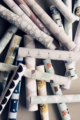 Projekty,  Ściany i podłogi zaprojektowane przez ferm LIVING