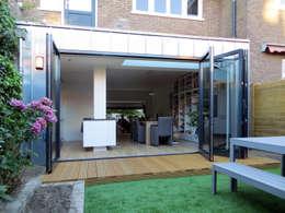 Uitbouw Zwolle: moderne Huizen door De Ontwerpdivisie