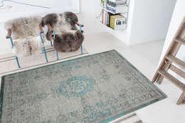 Jade Oyster Interior:  Muren & vloeren door louis de poortere