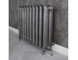 The Dragonfly Cast Iron Radiator Available at UKAA : classic Bathroom by UK Architectural Antiques