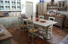 rustic Kitchen by Porte del Passato