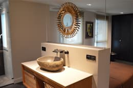 Projekty,  Łazienka zaprojektowane przez Agence MIND