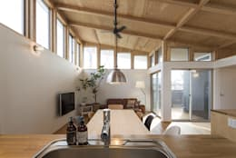Ruang Keluarga by 株式会社建楽設計