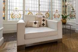 Collection Istare: Salon de style de style eclectique par Silvia Gianni
