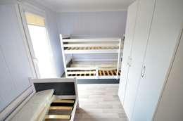 scandinavian Nursery/kid's room by Letniskowo.pl s.c. Jacek Solka, Marek Garkowski